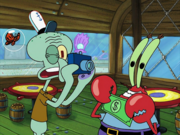 Mr.Krabs in Wormy-1