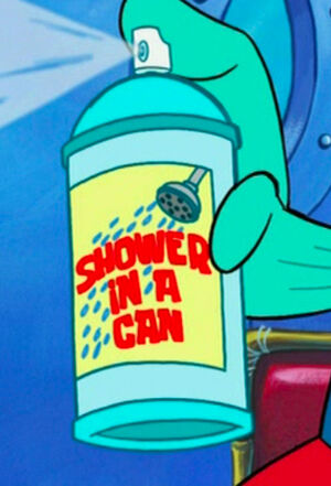 Shower-In-A-Can