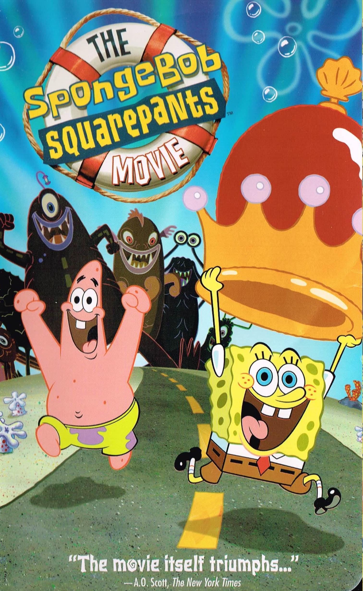 the spongebob squarepants movie vhs encyclopedia
