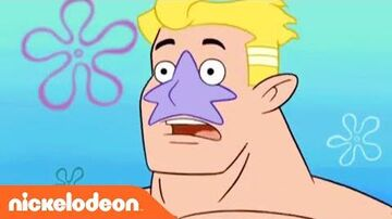 SpongeBob SquarePants Mermaid Man Origin Story Nick
