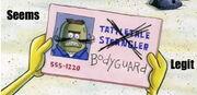 Tattletale Strangler's Card