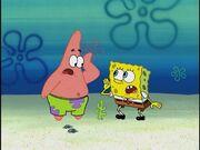 Patrick & Spongebob (Rock-a-Bye Bivalve)
