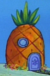 SpongeBob's pineapple house in Season 1-5