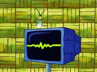 SpongeBob SquarePants Karen the Computer Painted