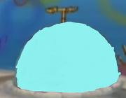 Cyan rock