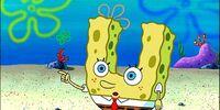 Sandy, SpongeBob, and the Worm
