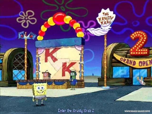 File:3d Spongebob & 1 3d Reporter Fish.jpg