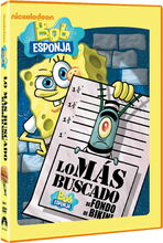 Bikini Bottom's Most Wanted Spanish DVD