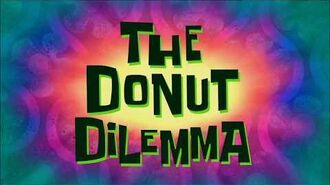 SpongeBob Music The Donut Dilemma