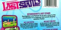 SpongeBob's Last Stand (DVD)