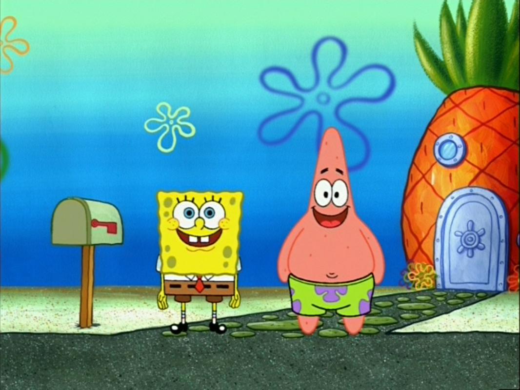 File:SpongeBob and Patrick waiting.jpg