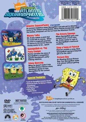 Spongebob Atlantis rear
