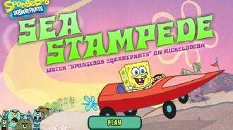 SpongeBob SquarePants Sea Stampede