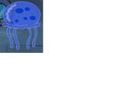 Blue Jellyfish