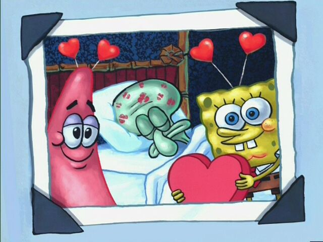 File:Picture Of Patrick, Squidward Sleeping, & Spongebob On Valentines Day.jpg