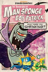 Man Sponge and Boy Patrick 2