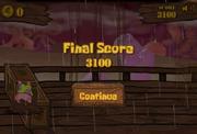 Dutchman's Dech Dash of Doom Game Over