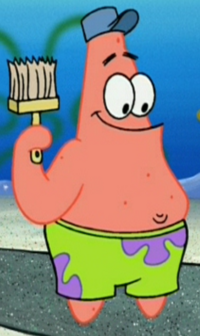 Patrick as a Painter