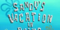 Eugene H. Krabs/gallery/Sandy's Vacation in Ruins