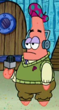 Patrick Wearing His Golf Uniform & Headset