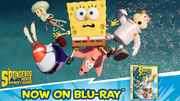 The SpongeBob Movie - Sponge Out of Water Blu-ray AD