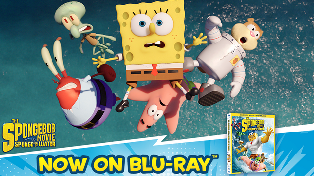 File:The SpongeBob Movie - Sponge Out of Water Blu-ray AD.png