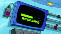 SpongeBob SquarePants Karen the Computer Loading-1