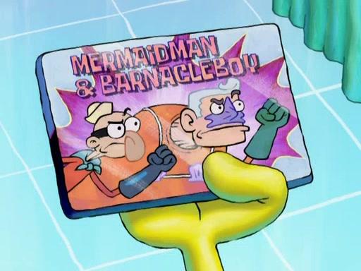 File:Mermaid Man & Barnacle Boy Fridge Magnet.jpg