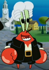Mr. Krabs as a Colonist