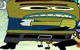 Spongebob funny strangler