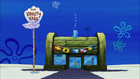 The Krusty Krab in The SpongeBob SquarePants Movie