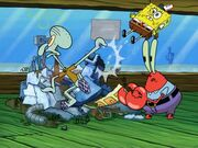 Restraining SpongeBob 069
