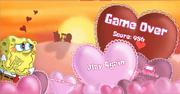 Gary's Crush game over