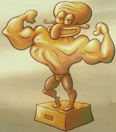 File:Gold Squidward.png
