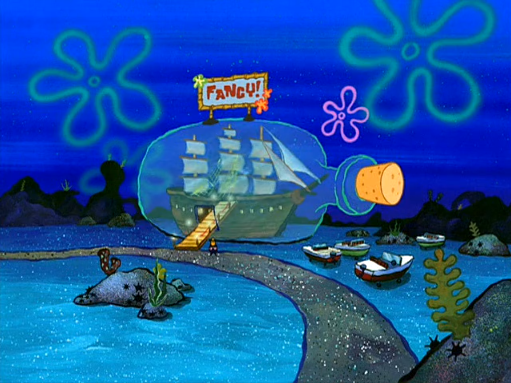 Fancy Restaurant Background what spongebob restaurant should you eat at? | playbuzz