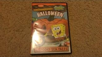 SpongeBob SquarePants Halloween - DVD Unboxing