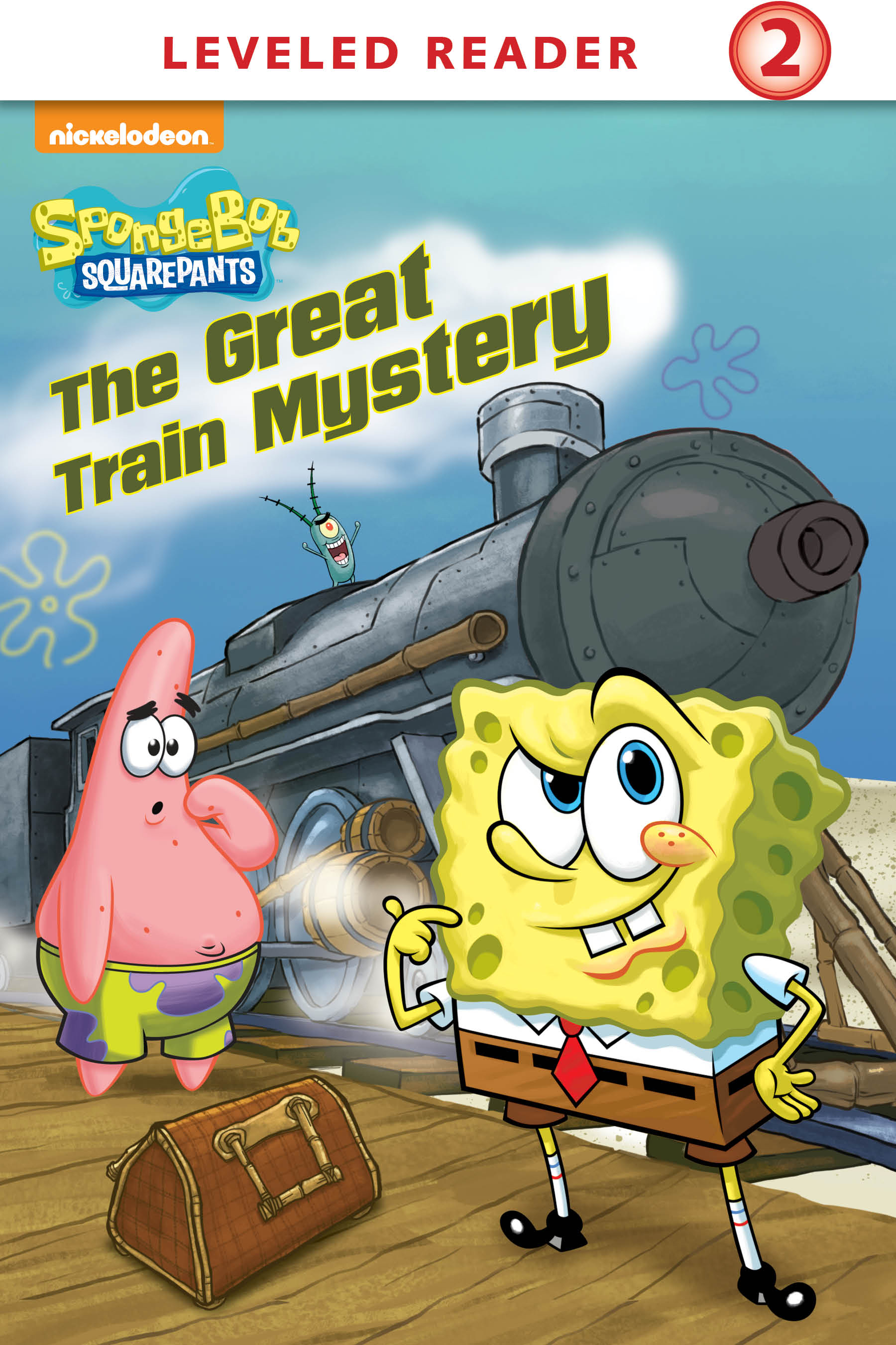 The Great Train Mystery Kindle Cover