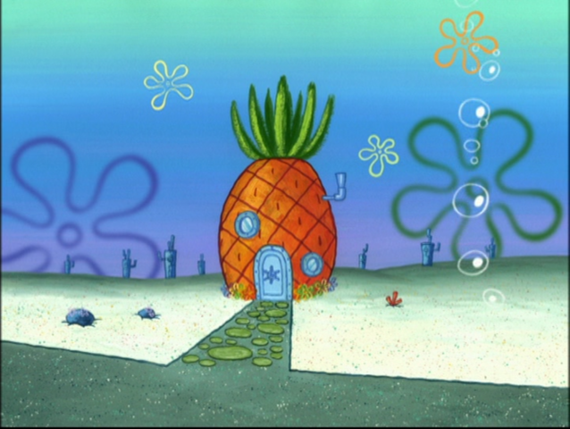 File:SpongeBob's pineapple house in Season 4-9.png