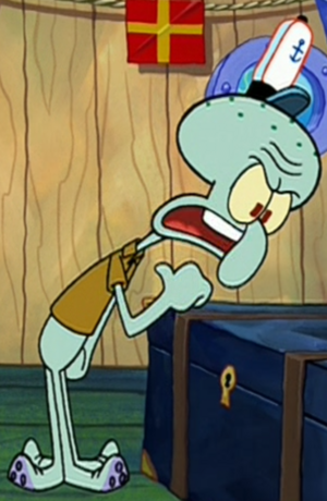 AU Squidward