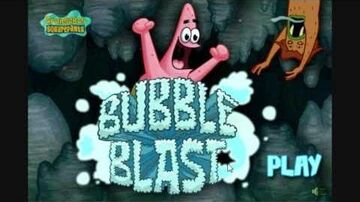 SpongeBob Games Bubble Blast Gameplay