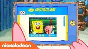 Patrick Checks His Instaclam