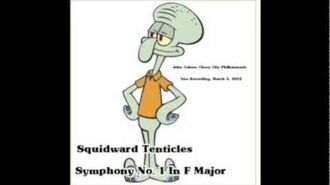 Squidward's Symphony Suction Cup