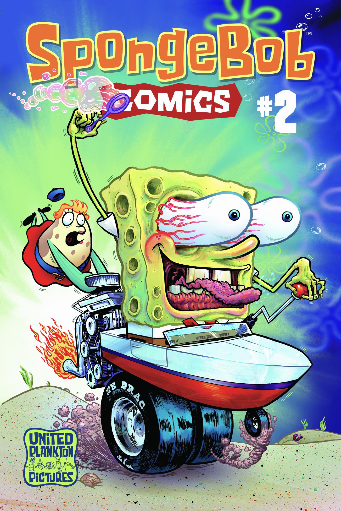 spongebob comics no 2 encyclopedia spongebobia fandom powered