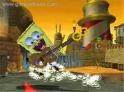 SpongeBob Movie Game Sonic Wave Guitar