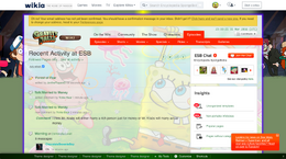 SpongeBob SquarePants turns into Gravity Falls wiki