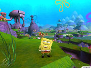 3d Spongebob (Battle For Bikini Bottom)