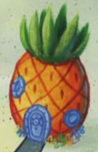 SpongeBob's pineapple house in Season 8-6