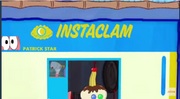 Patrick Star Checks His Instaclam 07
