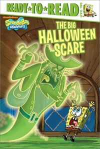 The Big Halloween Scare Reprint Paperback Cover