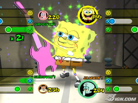 File:3D Spongebob & 1 Guitar (Lights, Camera, Pants)3.jpg